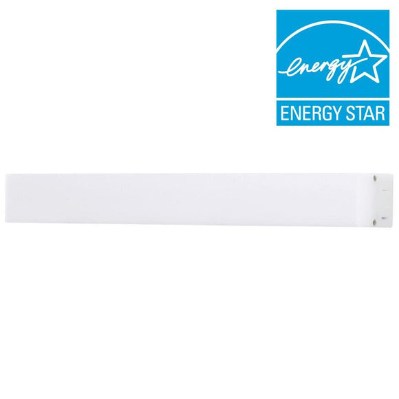 Satin 12 in. LED Silver Under Cabinet Light
