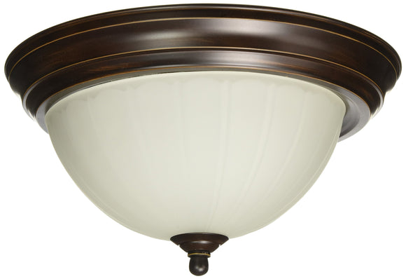 Progress Lighting P3816-20EB GU24 Flush Mount, 1-13-watt