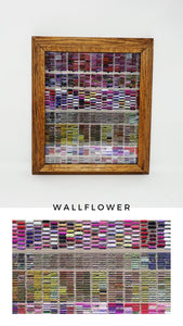 FRAMED 'WALLFLOWER' PRINT
