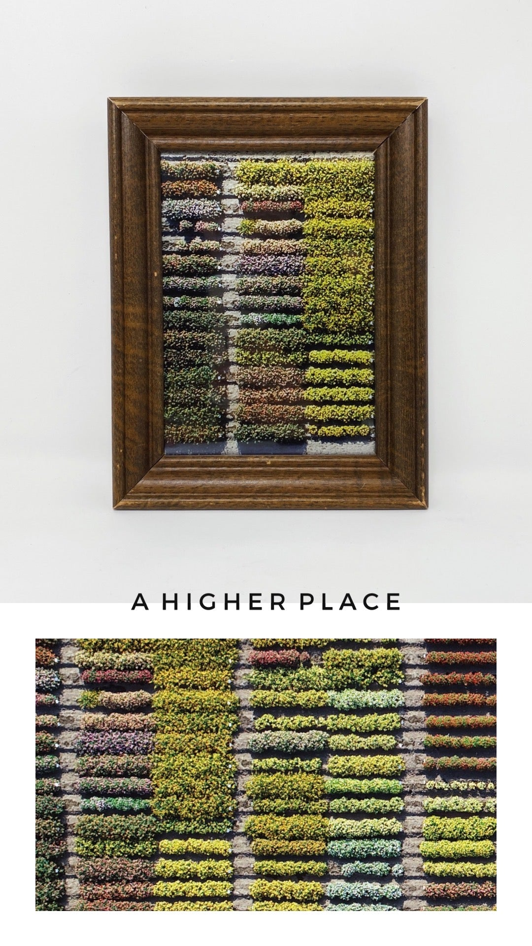 FRAMED 'A HIGHER PLACE' PRINT