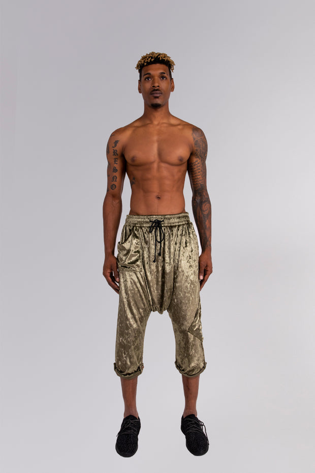 CD DROP RISE LOUNGE PANT CRUSHED VELOUR - MENS