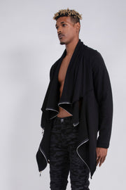 CD DOUBLE PANEL TERRY JACKET