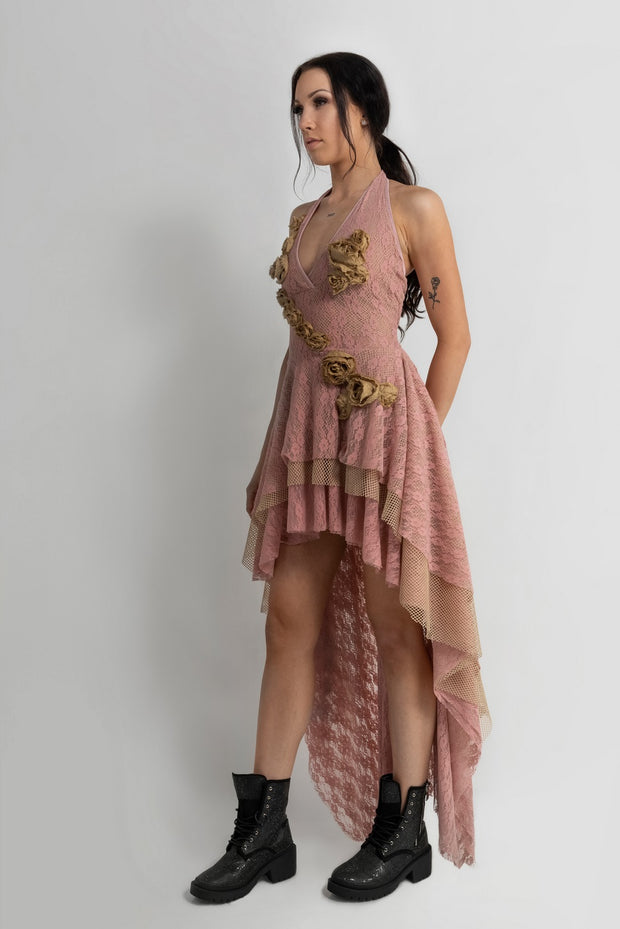 """LUCKY STAR"" DRESS PINK - GUEST DESIGNER"