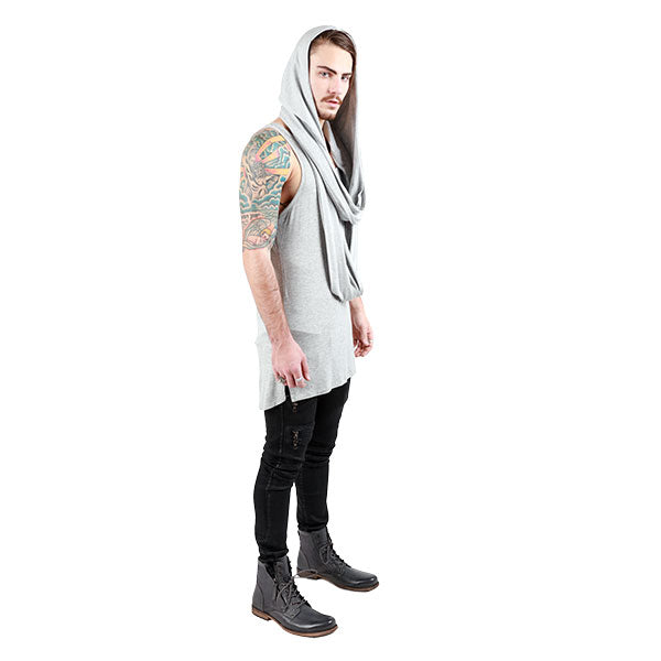 HOODED INFINITY SCARF UNISEX - cosmos-glamsquad