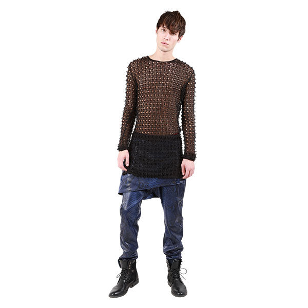 """RICKY"" JAPANESE OPEN-KNIT SWEATER MENS - cosmos-glamsquad"