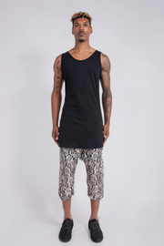 CD EXTENDED TANK TOP BLACK - MENS