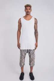 CD EXTENDED TANK TOP WHITE- MENS