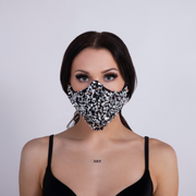 STARLIGHT SEQUIN FACEMASK SILVER