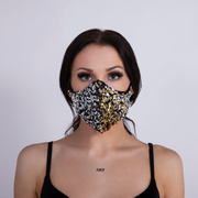 STARLIGHT SEQUIN FACEMASK SILVER/GOLD