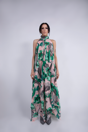 """STUDIO 54"" LOW-BACK DRESS TROPICAL - WOMENS"