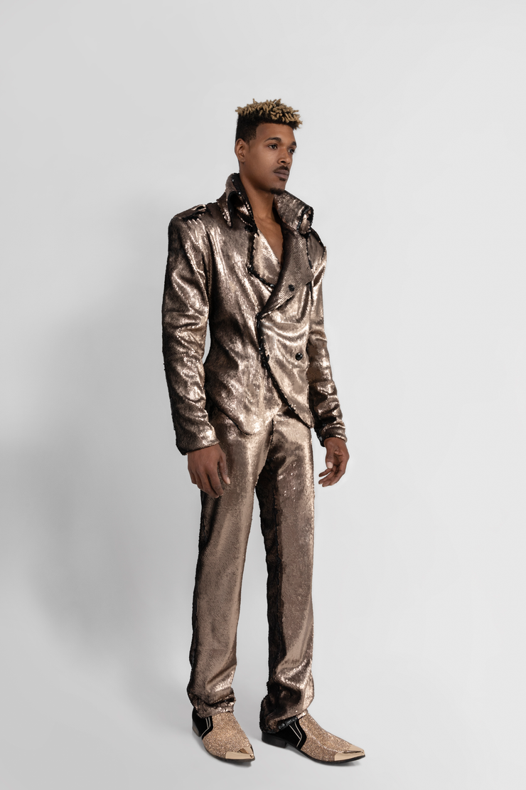 "STRAIGHT LEG ""ROCK N' ROLL"" SUIT - MENS OCCASION"