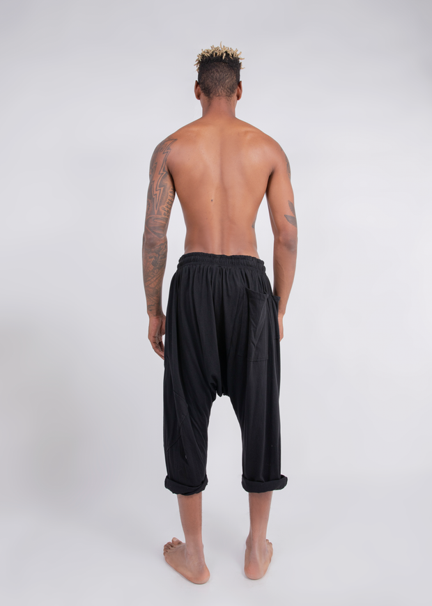 CD DROP RISE LOUNGE PANT BLACK - MENS