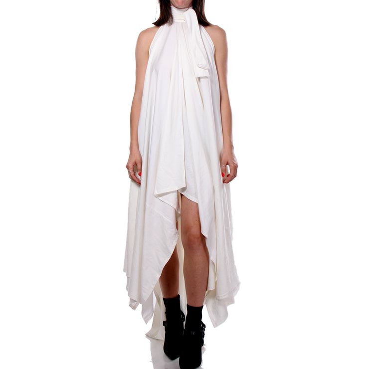 "CD ""STUDIO 54"" JERSEY COTTON DRESS WHITE - WOMENS"