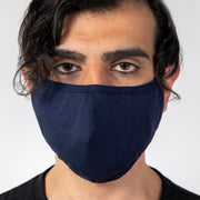"""OFFICER"" AIR FILTER FACE MASK - NAVY"