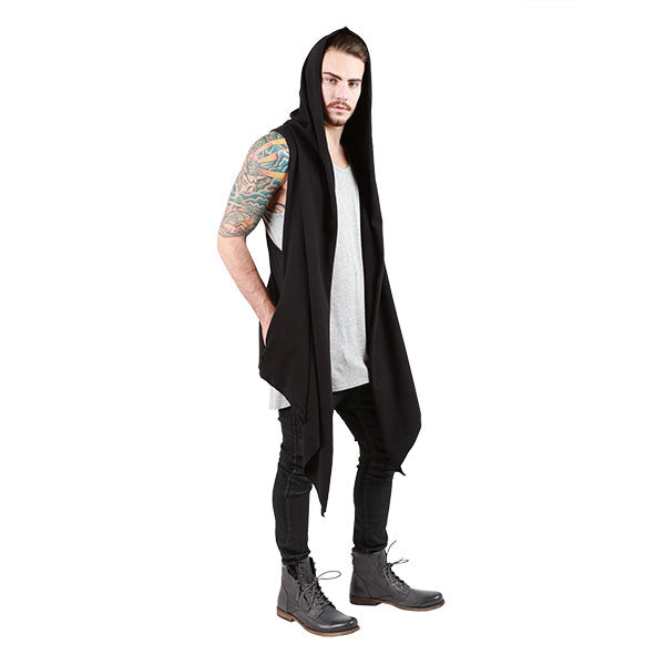 POINTY HOODED CAPE - UNISEX - cosmos-glamsquad