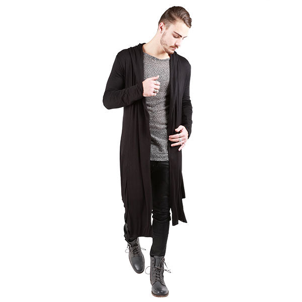"""SAN PEDRO"" LONG SWEATER JACKET MENS - cosmos-glamsquad"