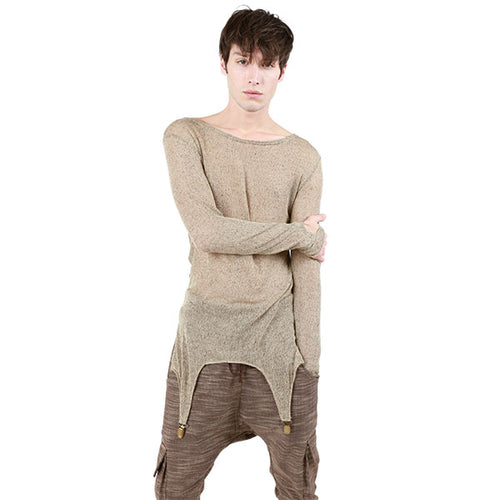 SUSPENDER CLASP SWEATER MENS