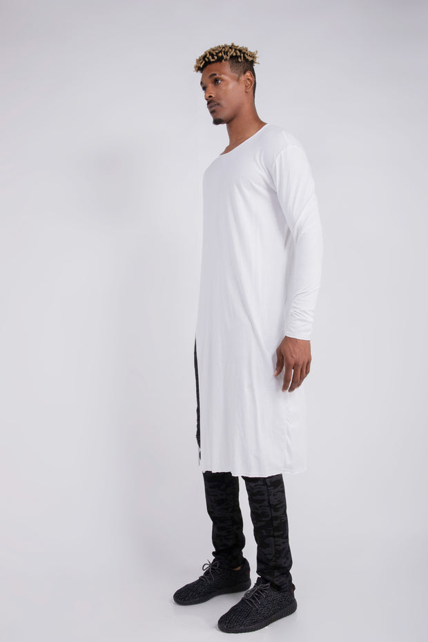 "CD ""MATRIX"" CAFTAN TEE WHITE - UNISEX"