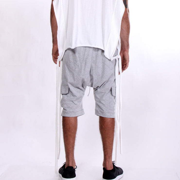 CD DOUBLE JERSEY CARGO SHORTS - MENS
