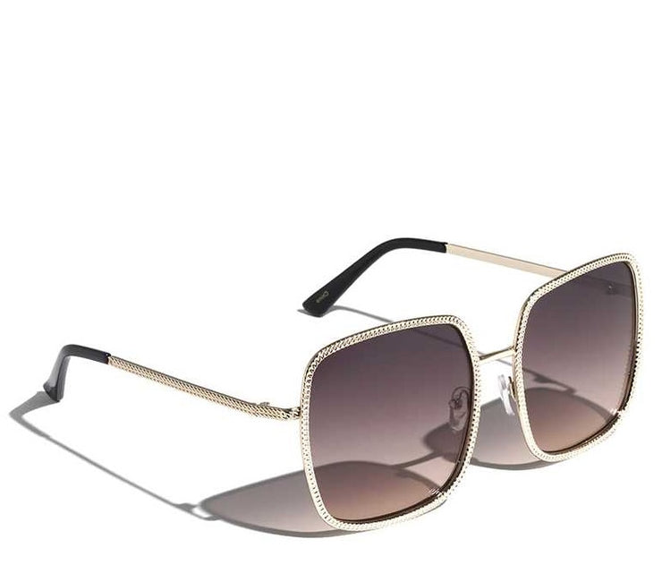 ETCHED FRAME SUNGLASSES - UNISEX ACCESSORIES
