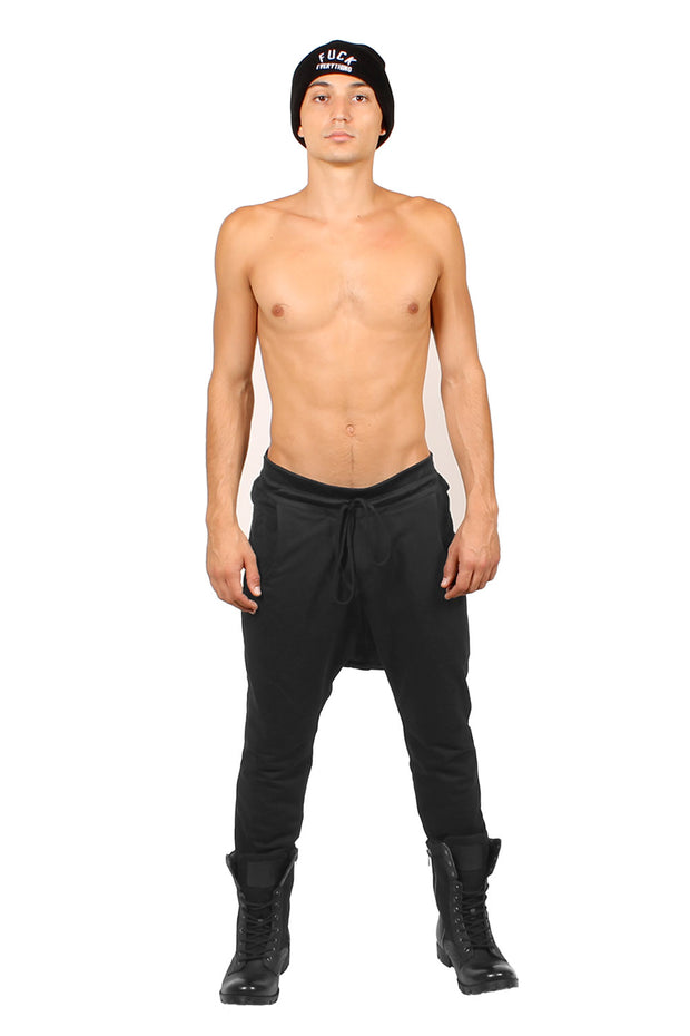 """THE BIG"" DRAWSTRING KNIT PANT MENS - cosmos-glamsquad"