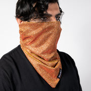 "CD ""OUTLAW"" FACE GAITER - COPPER SPECTRUM"