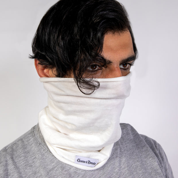 CD TUBULAR FACE GAITER - JERSEY COTTON