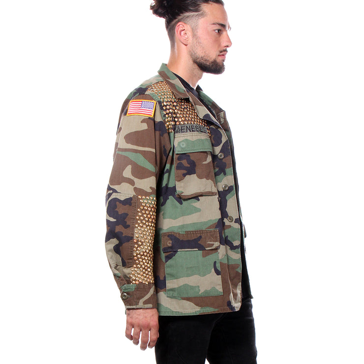 US ARMY MILITARY CARGO JACKET - MENS