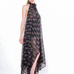 "CD ""STUDIO 54"" DRESS AZTEC PRINT - WOMENS - cosmos-glamsquad"