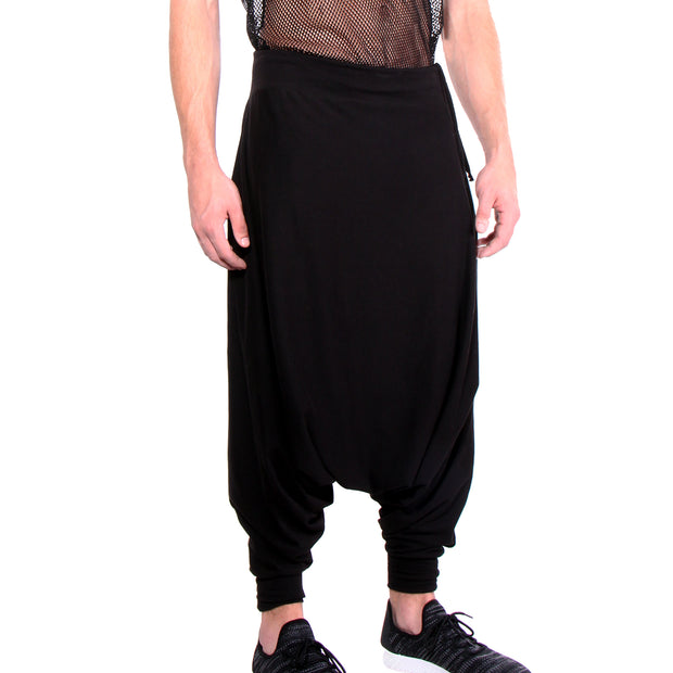 "CD ""SUPER DROP"" KNIT PANT BLACK - UNISEX - cosmos-glamsquad"