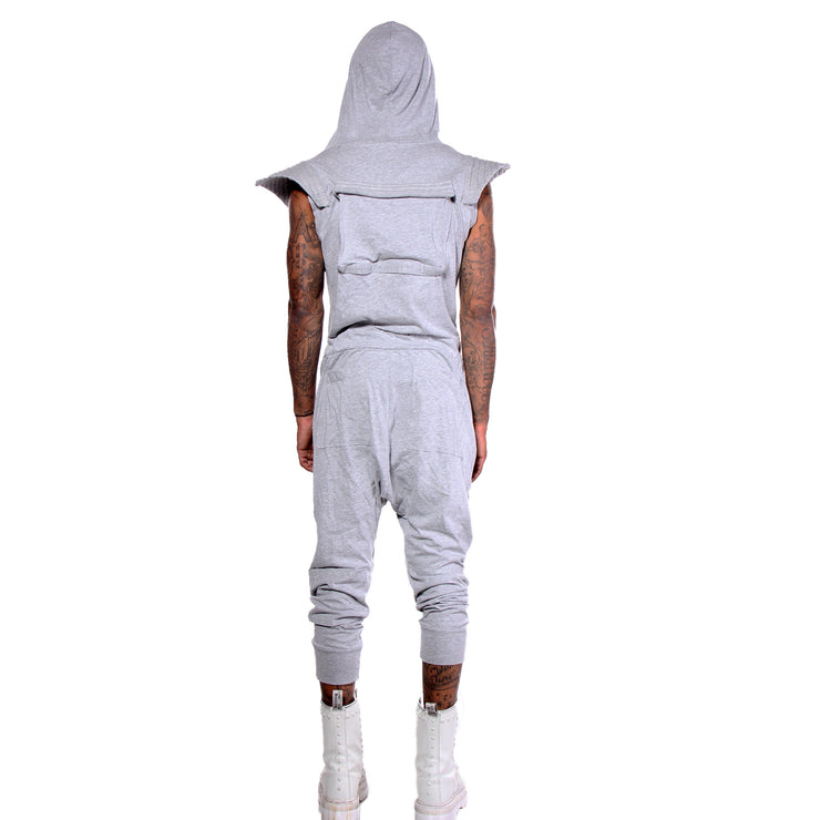 "CD ""ROCKET MAN"" JUMPSUIT GREY - MENS"