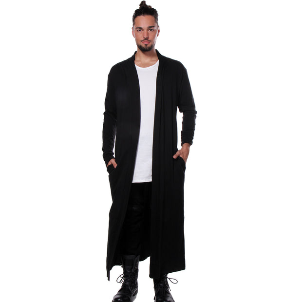 "CD ""MATRIX"" LONG TEE COAT BLACK - UNISEX"