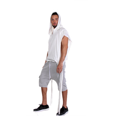 CD SQUARE HOODIE OFF WHITE - UNISEX