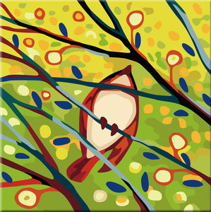 Spring Birds Paint by Number Kit - Bird VI