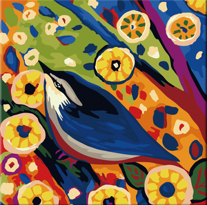 Spring Birds Paint by Number Kit - Bird XI