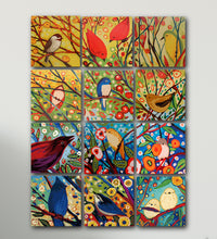 Spring Birds Paint by Number Kit - Bird VIII