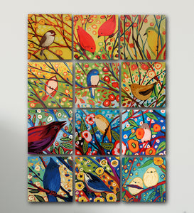 Spring Birds Paint by Number Kit - Bird IX