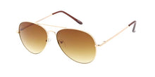Metal Aviator Sunglasses Gold Frame