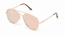 Aviator w/ Pink Spectrum Color Mirror Lens