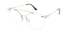Rimless Frame Sunglasses w/ Clear Lens