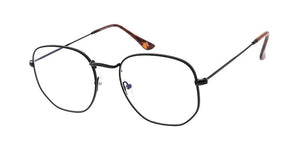 REKOVR Blue Light Filtering Classic Rounded Square Hipter Glasses
