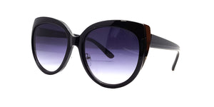 Women's Plastic Large Cat Eye Sunglasses