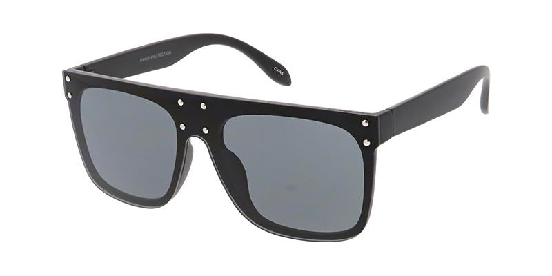 Women's Plastic Large Square Shield Sunglasses