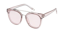 Women's Large Crystal Monochromatic Frame w/ Color Lens