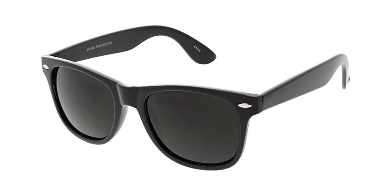 Black Wayfarer Frame Sunglasses