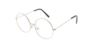 Kids' Metal Round Frame with Clear Lens