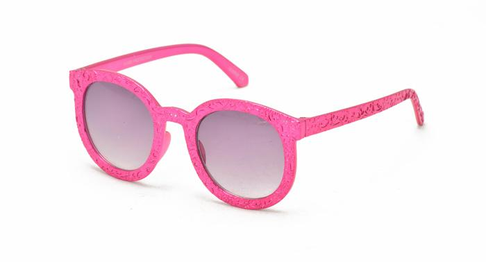 Kids' Plastic Metallic Frame Sunglasses