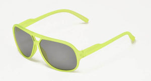 Kids' Plastic Square Aviator Frame Sunglasses