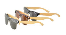 Combo Clubber Sunglasses With Bamboo Temples