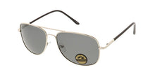 Square Aviator Sunglasses w/ Polarized Lens
